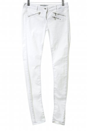 Guess Jeggings blanco Apariencia vaquera