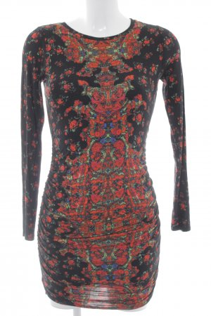 Guess Jerseykleid abstraktes Muster Casual-Look