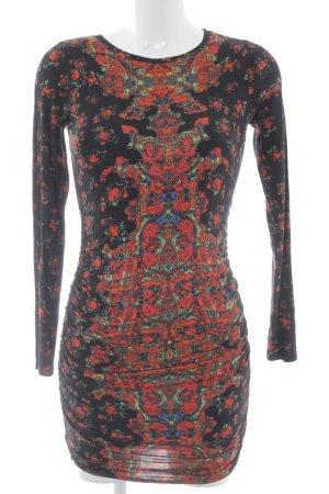 Guess Vestido de tela de jersey estampado con diseño abstracto look casual