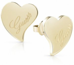 Guess Jewellery Ohrstecker Herz Gold