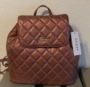 guess jory backpack rucksack neu metallic rosa tasche