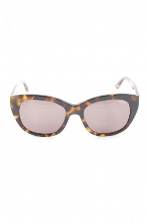 Guess Square Glasses multicolored animal print