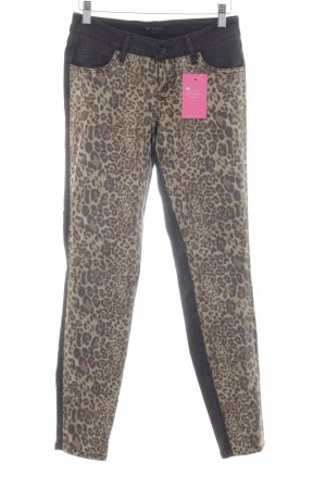 Guess Carrot Jeans animal pattern animal print