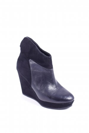 Guess Keil-Stiefeletten schwarz Eleganz-Look