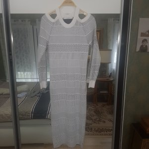 Guess Woolen Dress white-silver-colored