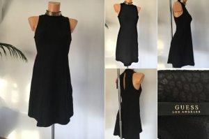 Guess Kleid Gr. 34 schwarz-goldfarben Animalprint Neu m. Etikett