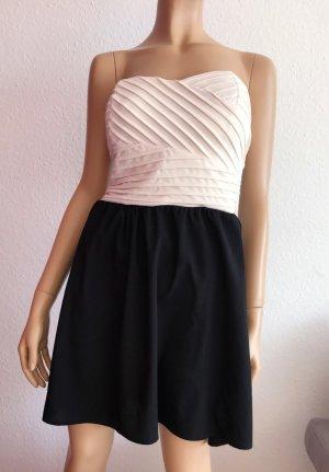 GUESS Kleid Gr. 38 kurz kurzes Kleid Bandeau Bandeaukleid trägerlos trägerloses Partykleid Cocktailkleid