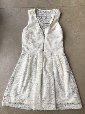 Guess vestido de globo blanco puro