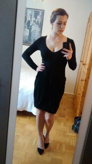 Guess Kleid Gr. S 36 schwarz langarm strerch herbst winter must have