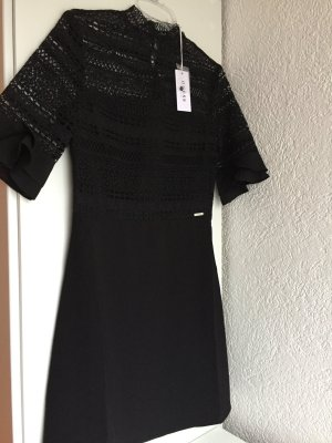 GUESS Kleid NEU ornamentaler Spitze  Schwarz XS 34 NEU Dress NP 119,95 €