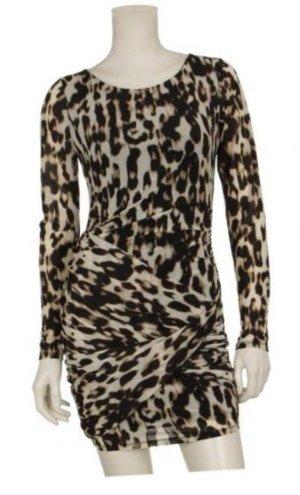 Guess Kleid Partykleid Leopard Leoprint Gr S