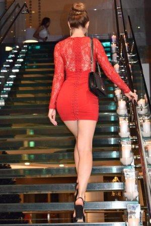 Guess Mini vestido rojo