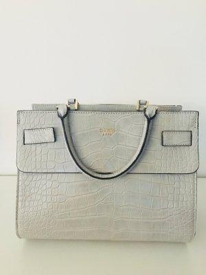 GUESS Kroko Style Tasche grau