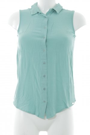 Guess Short Sleeved Blouse mint simple style