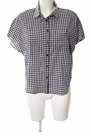 Guess Short Sleeve Shirt white-black allover print casual look