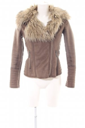 Guess Short Jacket bronze-colored casual look