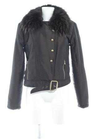 Guess Short Jacket dark brown metallic look