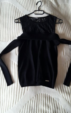 Guess Lang shirt zwart