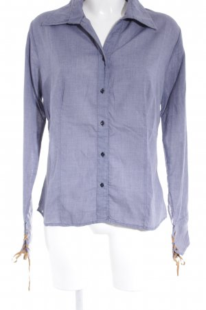 Guess Long Sleeve Shirt slate-gray casual look