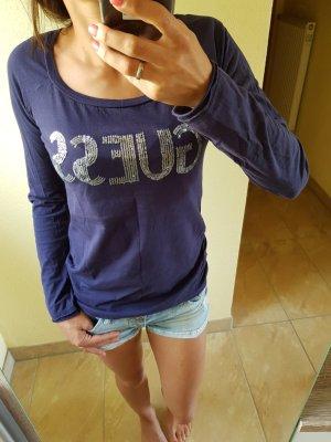 Guess Camiseta estampada azul