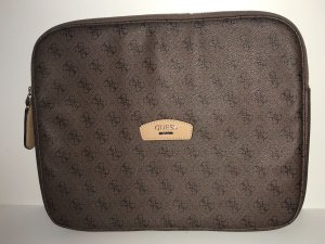 Guess Laptop bag multicolored leather