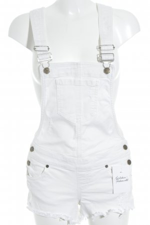 Guess Dungarees natural white casual look