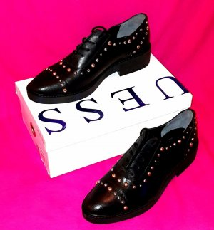 Guess Oxfords black leather
