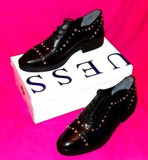 Guess Zapatos estilo Oxford negro Cuero