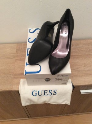 Guess Leder Pumps schwarz