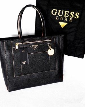 GUESS Leder Tasche Shopper Neu mit Etikett