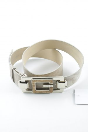 Guess Leather Belt beige-cream casual look