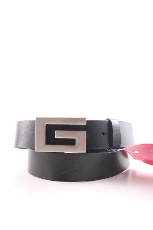 Guess Cintura di pelle nero stile casual