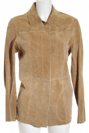 Guess Leather Jacket beige Boho look