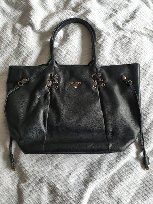 Guess Luxe Shopper zwart-goud