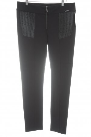 Guess Leggings black-silver-colored casual look