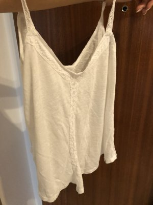 Guess Lace Top white linen