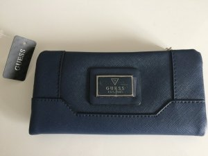 GUESS LEISURE CITY NAVY blau Geldbörse NEU OVP