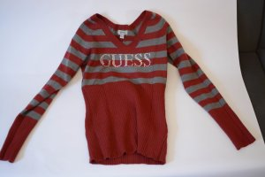 GUESS Logo Pullover mit Strass