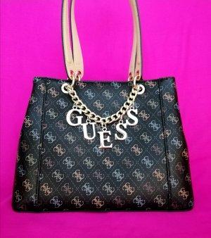 Guess Logo Tasche Shopper wie neu