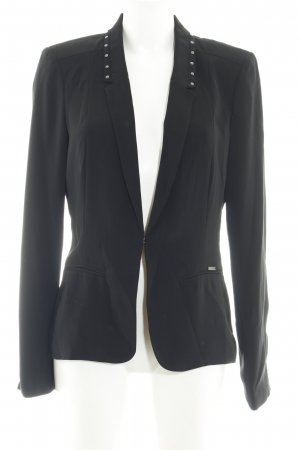 Guess Long-Blazer schwarz Business-Look