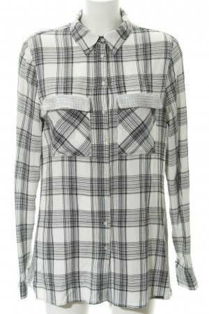Guess Long-Bluse Karomuster Casual-Look