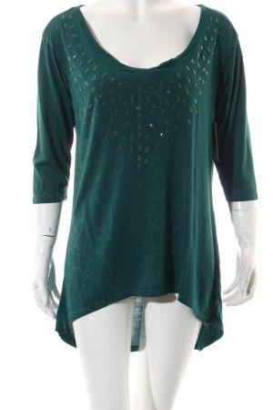 Guess Camicia lunga verde-verde chiaro stile casual