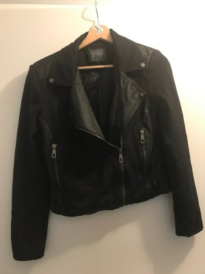 Guess Jacket black imitation leather