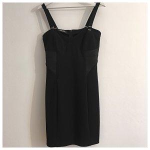 GUESS LOS ANGELES Stretch- Bandagekleid, schwarz, schlicht, kurz