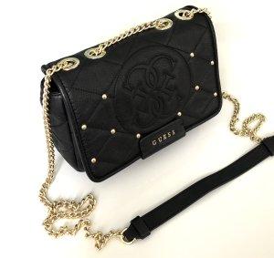 Guess Luxe Echtleder Crossbody NP 289€ quilted Bag Tasche