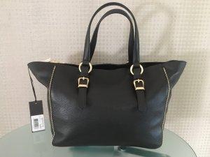 Guess Shopper noir-doré cuir