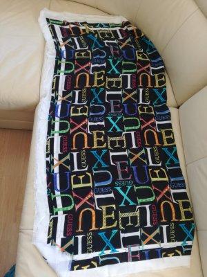 Guess Luxe Sciarpa di seta multicolore