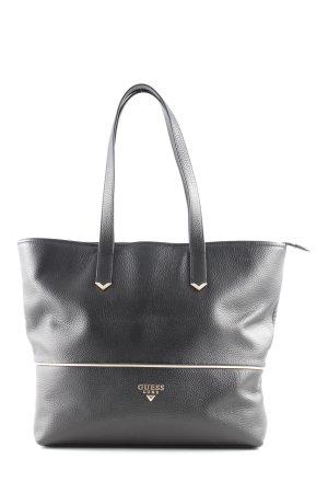 Guess Luxe Shopper schwarz Animalmuster Elegant