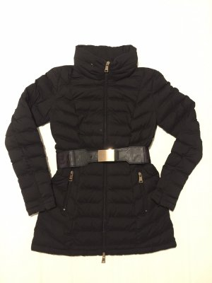 Guess Quilted Coat black-anthracite
