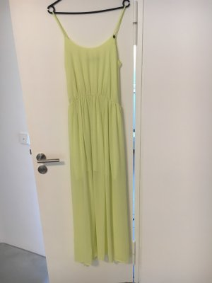 Guess Robe longue jaune citron vert